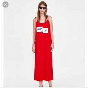 Zara Truly lost dress M